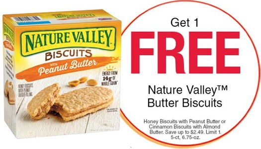 Nature Valley Butter Biscuits