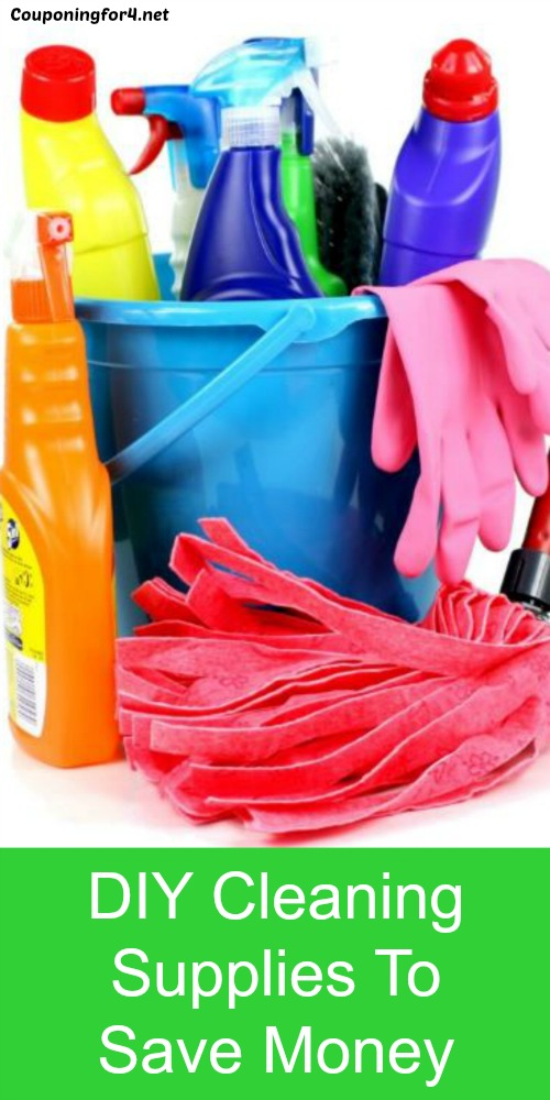 DIY Cleaning Supplies To Save Money