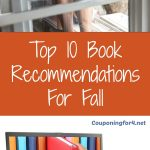 Top 10 Book Recommendations For Fall