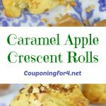 Caramel Apple Crescent Rolls