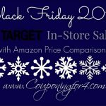 HUGE Target Black Friday List With Amazon Price Comparisons!