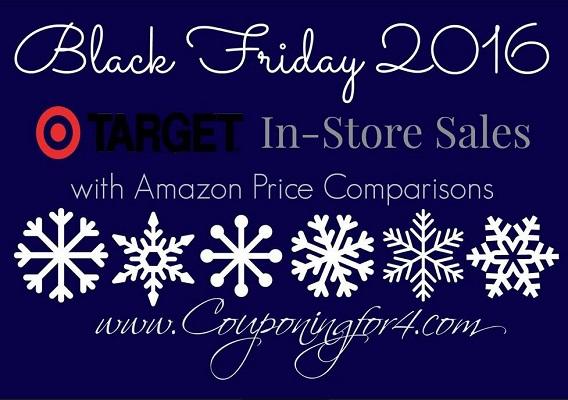 Target Amazon Price Comparison Black Friday