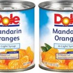 New Dole Mandarin Oranges Coupon Means $.81 Cans At Walmart And Target!