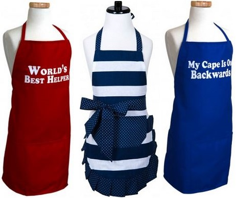 Flirty Aprons For Kids