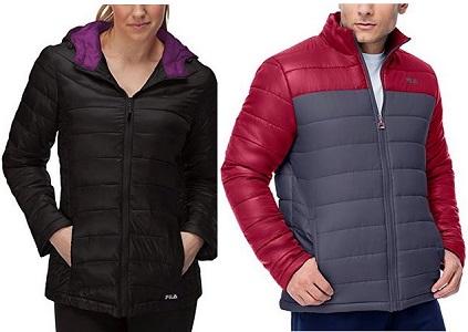 Fila Women's And Men's Puffer Jackets