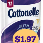 Cottonelle 12-Count Bath Tissue Only $1.97 At Walgreens!