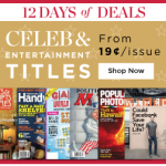 Gifts For Gossip Fans Magazine Subscription Sale!