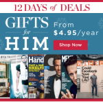 Gifts For Him Magazine Subscription Sale (As Low As $4.95 Per Year!)