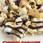 Easy S'mores Popcorn