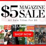 $5 Magazine Subscription Sale!