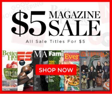 Magazine Sales