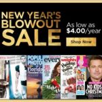 New Year's Blowout Magazine Subscription Sale – Today Only!